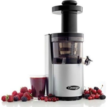 Omega VSJ843RS Vertical Juicing System (Silver)