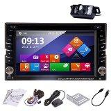 Ouku 6.2 Touchscreen In-Dash Double-DIN DVD Multimedia Receiver with GPS, Bluetooth, Rear Camera