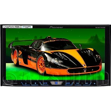 "Pioneer AVH-4100NEX 2-DIN Multimedia DVD Receiver with 7"" WVGA Touchscreen Display"