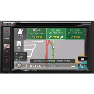 Pioneer AVIC-5100NEX In-Dash Navigation AV Receiver with 6.2 WVGA Touchscreen Display