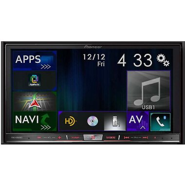 "Pioneer AVIC-8100NEX Flagship In-Dash Navigation AV Receiver with 7"" WVGA Capacitive Touchscreen Display"