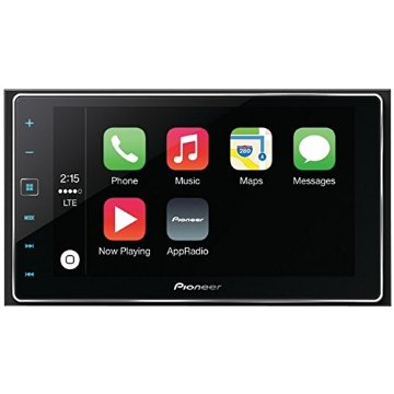 Pioneer SPH-DA120 AppRadio 4 Smartphone Receiver with 6.2 Touchscreen, Apple CarPlay, Siri Eyes Free, Android Support