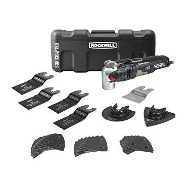 Rockwell Sonicrafter F50 Kit with Hyper Lock and Universal Fit System, 34-Piece (RK5141K)
