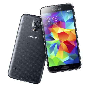 Samsung Galaxy S5 SM-G900A 4G LTE 16GB GSM Unlocked Android Smartphone (for T-Mobile, AT&T, or other GSM, Black)