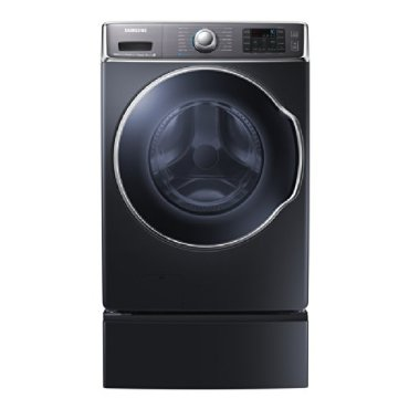 Samsung WF56H9100AG 30 5.6 cu ft Front-Load Energy Star Washer (Onyx Black)
