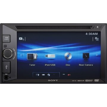"Sony XAV-65 Double-Din 6.2"" Touchscreen AV Receiver"