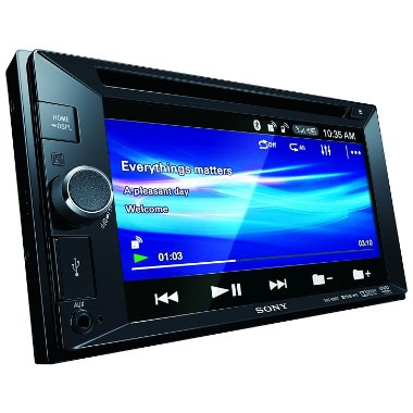 Sony XAV-68BT 6.2 Touchscreen Bluetooth DVD/CD/VCD AV Receiver