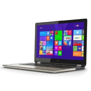 Toshiba P55W-B5318 Satellite Radius 2-in-1 Convertible 15.6 Touchscreen Tablet/Laptop with Intel Core i7, 12GB RAM, 256GB SSD