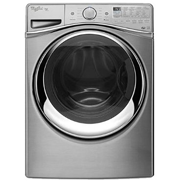 Whirlpool WFW97HEDU Duet Series 27 Front Load Washer (Diamond Steel)