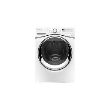 Whirlpool WFW97HEDW Duet Series 27 Front Load Washer (White)