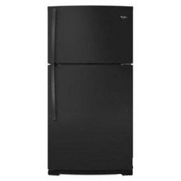 Whirlpool WRT549SZDB 19.2 Cu. Ft. Top Freezer Refrigerator (Black)