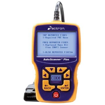 Actron CP9580A AutoScanner Plus Enhanced OBD II CAN ABS Live Data Scan Tool