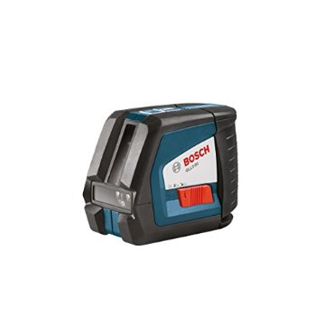 Bosch GLL 2-50 Self-Leveling Cross-Line Laser with BM3 Positioning Device