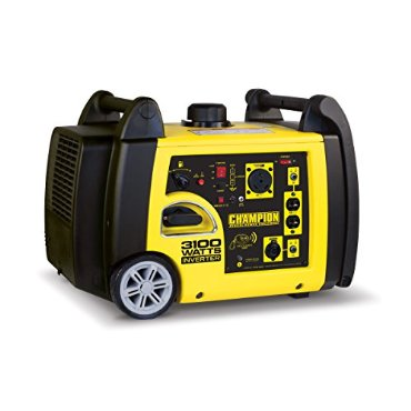 Champion Power Equipment 75537i Inverter Generator with Wireless Remote, 3100 Watt
