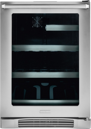 Electrolux EI24BC10QS 24 Undercounter Beverage Center with IQ-Touch Temperature Controls and Right Hand Door Swing