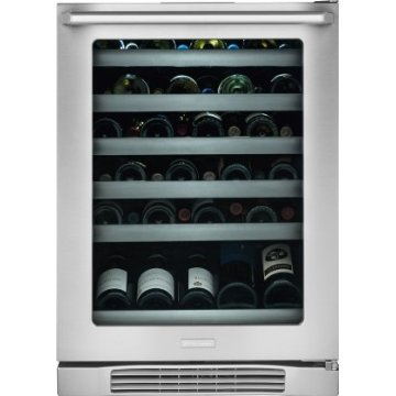 Electrolux EI24WC10QS 24 Undercounter Wine Cooler with 45-Bottle Capacity and Right Hand Door Swing