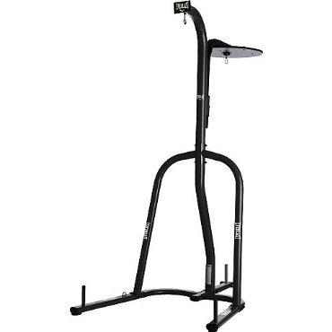 Everlast Dual Station Heavy Bag + Speed Bag Stand