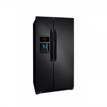 Frigidaire FFSC2323LE 22.6 Cu. Ft. Counter-Depth Side-by-Side Refrigerator - Ebony Black