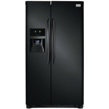 Frigidaire FGHS2631PE Gallery 26 Cu. Ft. Side-by-Side Refrigerator (Black)