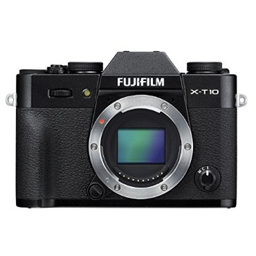 Fujifilm X-T10 Mirrorless Digital Camera (Body Only, Black)