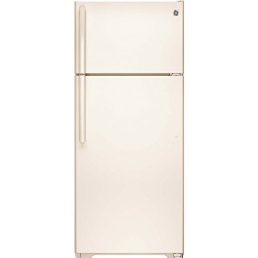 GE GIE18GTHCC 17.5 Cu. Ft. Top-Freezer Refrigerator (Bisque)