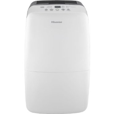 Hisense DH-70K1SDLE 70-Pint Energy Star 2-Speed Dehumidifier