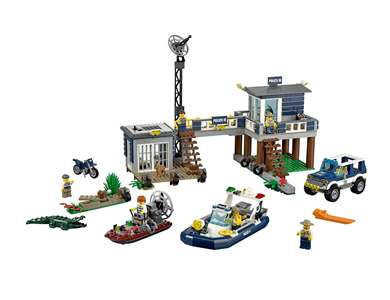 LEGO City Swamp Police Station (60069)