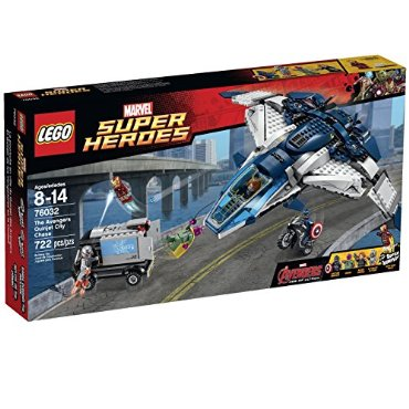 LEGO Superheroes The Quinjet City Chase (76032)