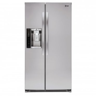 "LG LSXS26326S 36"" Side-by-Side Refrigerator"