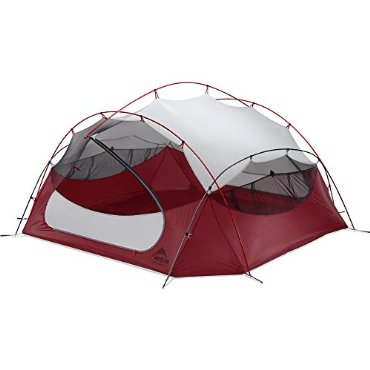 MSR Papa Hubba NX 4-Person Tent (Red)