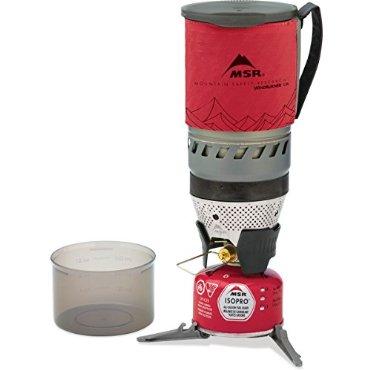 MSR WindBurner Stove System Red, 1.0L