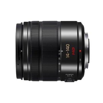 Panasonic Lumix 14-140mm f/3.5-5.6 II G Vario Lens for Micro Four Thirds (Black)