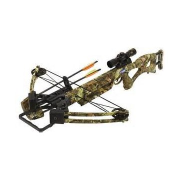 PSE Fang Crossbow Package w/ 4x32 Scope, Quiver, 3 Arrows