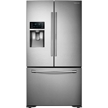 Samsung RF23HTEDBSR 23 Cu. Ft. Stainless Steel French Door Refrigerator