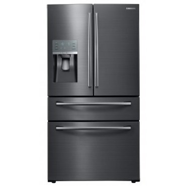 Samsung RF28JBEDBSG 36 Showcase 4-Door French Door Refrigerator (Black Stainless Steel)