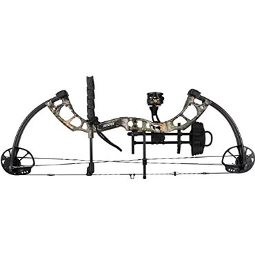 Bear Archery Cruzer RTH Compound Bow (Left Hand, Realtree Xtra Green, 15-70lb, A5CZ21007L)