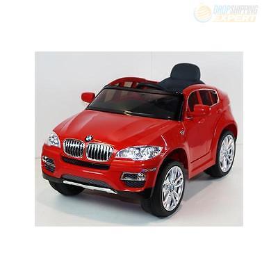 BMW X6 Red