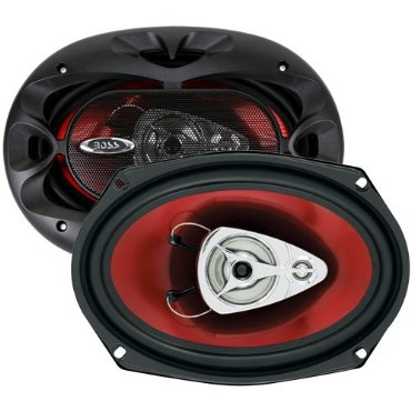 BOSS AUDIO CH6930  Chaos Exxtreme 6 x 9 3-way 400-watt  Full Range Speakers