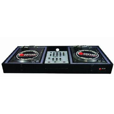 CBM10E ODYSSEY Economy Battle Mode Pro DJ Turntable Mixer Coffin - Black