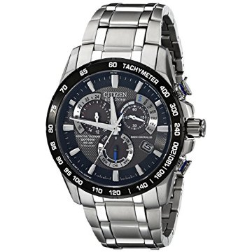 Citizen AT4010-50E Eco-Drive Perpetual Chrono A-T Titanium Dress Watch