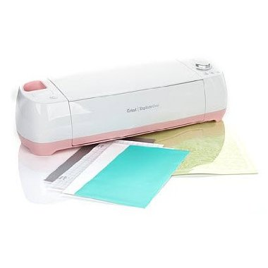 Cricut Explore One Electronic Die-cutter with Value-added Accessories (Poppy Pink)
