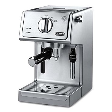 De'Longhi ECP3630 Espresso and Cappuccino Machine, Stainless Steel