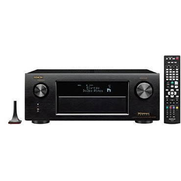 Denon AVR-X4200W 7.2 Channel Full 4K Ultra HD A/V Receiver with Bluetooth and Wi-Fi
