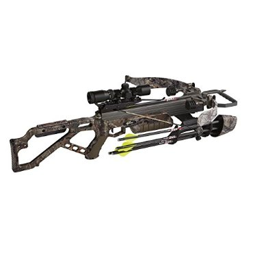 Excalibur Micro 335 APX Recurve Crossbow Package with Scope (270-Pound, Realtree Xtra)