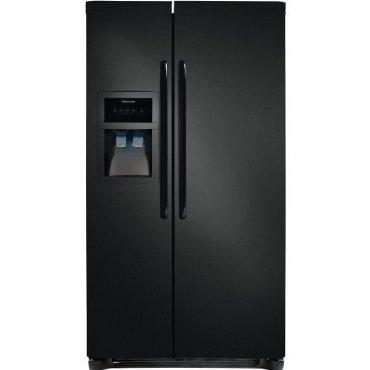 Frigidaire FFHS2622MB 26 Cu. Ft. Side-By-Side Refrigerator (Black)