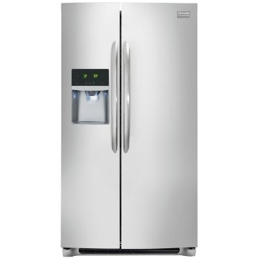 Frigidaire Gallery FGHC2331PF 36 23 Cu.Ft. Counter-Depth Side-By-Side Refrigerator (Smudge Proof Stainless Steel)