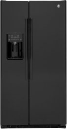 GE GZS22DGJBB 36 21.9 cu. ft. Counter-Depth Refrigerator (Black)