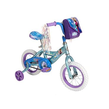 Huffy Disney Frozen 12 Bike (Frosty Teal Blue)