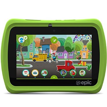 LeapFrog Epic 7 Kids Android 16GB Tablet (Green)