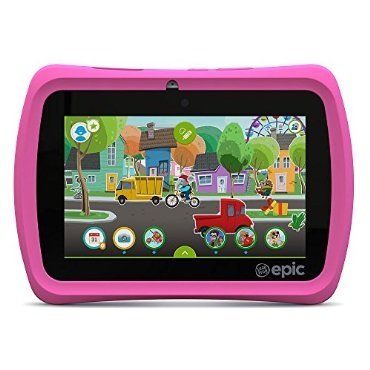 LeapFrog Epic 7 Kids Android 16GB Tablet (Pink)